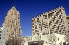 General Motors Headquarters in downtown Detroit, MI Stock Image