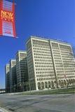 General Motors Headquarters in downtown Detroit, MI Stock Images