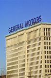 General Motors Headquarters in downtown Detroit, MI Royalty Free Stock Images