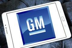General motors, logotipo do GM Foto de Stock
