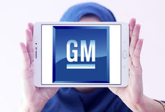 General motors, logotipo do GM Imagens de Stock Royalty Free