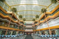The General Motors Renaissance Center in Detroit Michigan Royalty Free Stock Photo