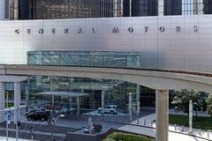 General Motors världshögkvarter Arkivfoto