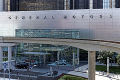 General Motors-Wereldhoofdkwartier Stock Foto