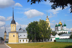 General panorama of Kremlin in Kolomna, Russia. Royalty Free Stock Photography