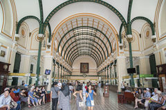 The General Post Office Ho Chi Minh City (Saigon) Stock Photos