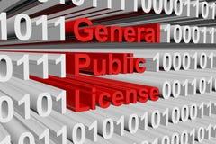 General Public License Stock Photo