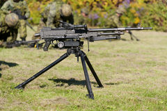General Purpose Machine Gun Stock Photo