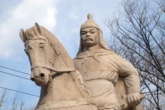 General Qi Jiguang, Shuiguan Great Wall, Badaling, Yanqing, China Stock Image