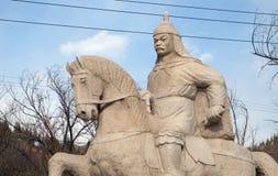 General Qi Jiguang, Shuiguan Great Wall, Badaling, Yanqing, China Stock Photo