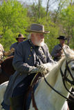 General Robert E Lee On Horseback Royalty-vrije Stock Foto