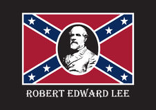General Robert Edward Lee. The supreme commander of the Confederate Army. Commander in the American Civil War. Controversial personality. Lee s Birthday, Lee Royalty Free Stock Images