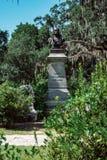 General Robert Harberson Cemetery Statuary Statue Bonaventure Cemetery Savannah Georgia imágenes de archivo libres de regalías