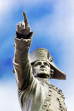 General Rochambeau Pointing Statue Lafayette Park Washington DC. General Rochambeau Pointing Statue Lafayette Park Autumn Washington DC. In American Revolution Royalty Free Stock Images