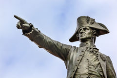 General Rochambeau Statue Lafayette Park Autumn Washington DC Royalty Free Stock Photos