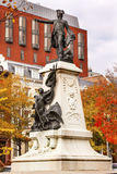 General Rochambeau Statue Lafayette Park Autumn Washington DC Stock Images