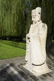 The General Sacred Way of the Ming Tombs Stock Images