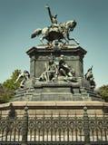 General San Martin Monument in Lagoa, Rio, Brazil. General San Martin Monument in Lagoa, Rio de Janeiro, Brazil stock photo