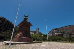 General San Martin Monument. In Lagoa, Rio de Janeiro, Brazil royalty free stock photo