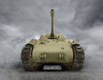 General Sherman Tank Lizenzfreies Stockbild