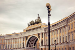 General staff arch, St. Petersburg Royalty Free Stock Photos