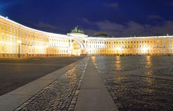 The General Staff building on Palace Square. Stock Image