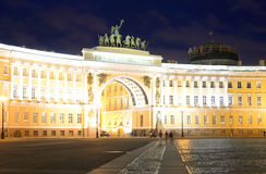 The General Staff building on Palace Square. Royalty Free Stock Photo