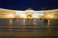 The General Staff building on Palace Square. Royalty Free Stock Photography