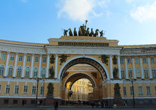 General Staff building, Palace Square Stock Image
