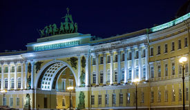 General Staff Building on Palace Square, Saint Petersburg Stock Photos