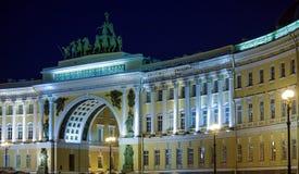 General Staff Building on Palace Square, Saint Petersburg Stock Photos