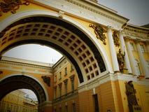 General Staff building in Saint Petersburg, stock image