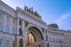 General Staff Building, St Petersburg stock photography