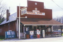General store, Cataract Falls, IN Royalty Free Stock Images