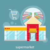 General store, shopping mall and fashion store Stock Photography