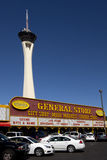 The General Store with Stratosphere Tower in Las Vegas, Nevada Stock Photo