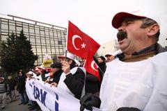 General Strike in Turkey. Stock Photos