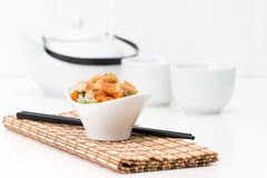 General Tao Chicken and Tea Stock Photography