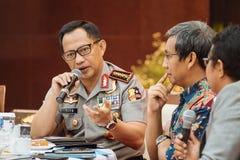 General Tito Karnavian da polícia Fotos de Stock