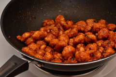 Chinese General Tso Chicken Royalty Free Stock Images