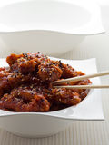 General tso chicken meal Stock Images