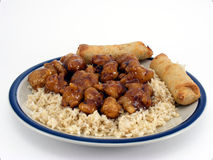 General Tso's Chicken #1 Stock Photography