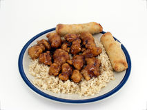General Tso's Chicken #2 Royalty Free Stock Images