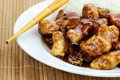 General Tso's Chicken Royalty Free Stock Photos