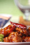 General tso's chicken stock photography