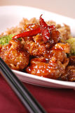 General tso's chicken Stock Photos