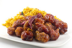 General Tso's Chicken Royalty Free Stock Image