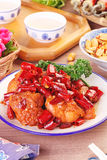 General Tso`s chicken Royalty Free Stock Images