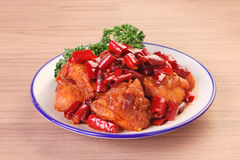 General Tso`s chicken Stock Photography