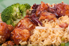 General Tsos Chicken Royalty Free Stock Photo